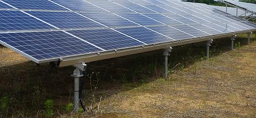 太陽光発電の基礎工事